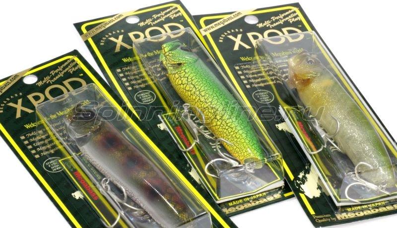 Воблер XPOD pm bass -  2