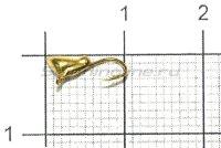 Мормышка LumiCom Паденка с ушком d3 золото