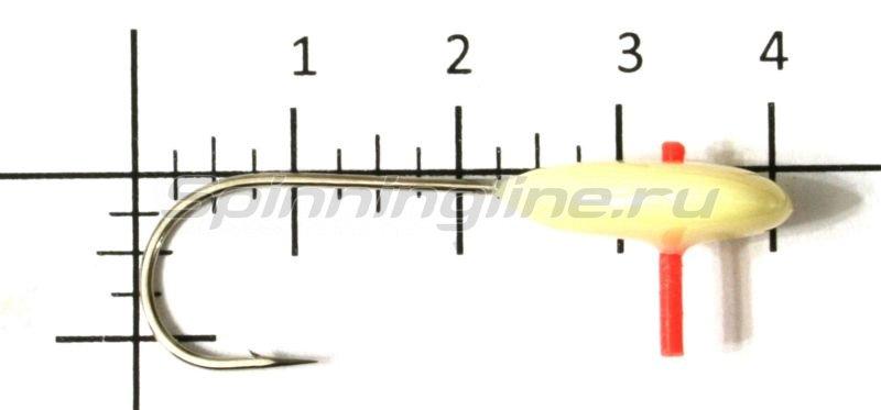 Мормышка фосфорная №24 кр.2 фосфор -  1