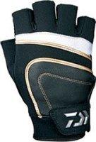 Перчатки Daiwa L бело-черный