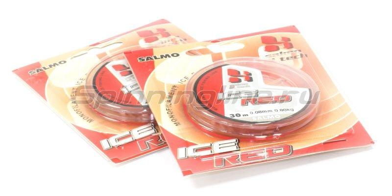 Леска Hi-Tech Red 30м 0,08мм -  2
