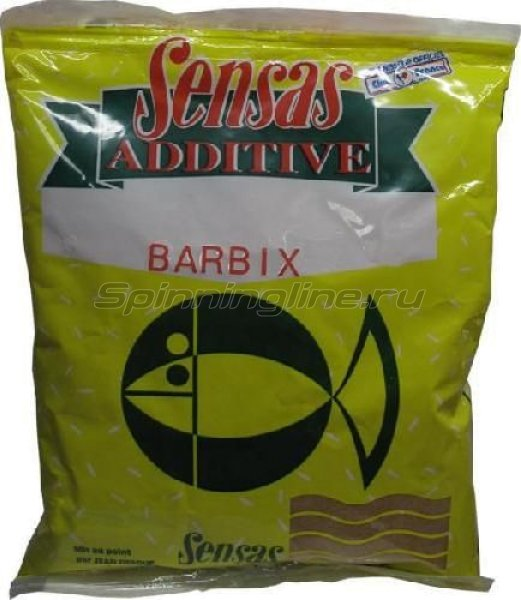 Добавка в прикорм Sensas Additive Barbix 0,30кг - фотография 1