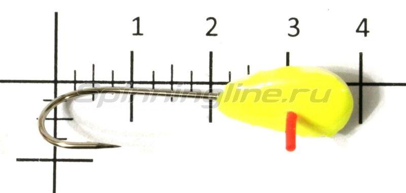 Lumicom - Мормышка фосфорная №24 кр.2 желтый - фотография 1