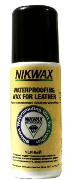 Водоотталкивающая пропитка для обуви Nikwax Black Aqueous Wax 125мл -  1