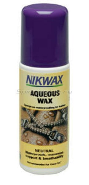 ����������������� �������� ��� ����� Nikwax Brown Aqueous Wax 125�� - ���������� 1