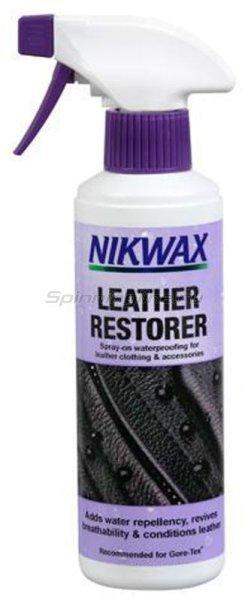 Водоотталкивающая пропитка для изделий из кожи Nikwax Leather Restorer 300мл - фотография 1