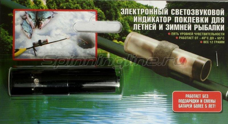 Электронный светозвуковой сигнализатор поклевки Мегатекс -  1