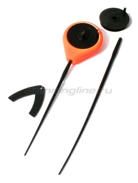 Удочка зимняя Балалайка Eco оранжевый - фотография 1