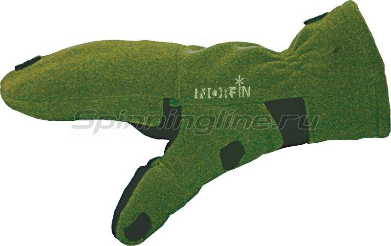 Перчатки-варежки ветрозащитные Norfin 73 отстегивающиеся L - фотография 1