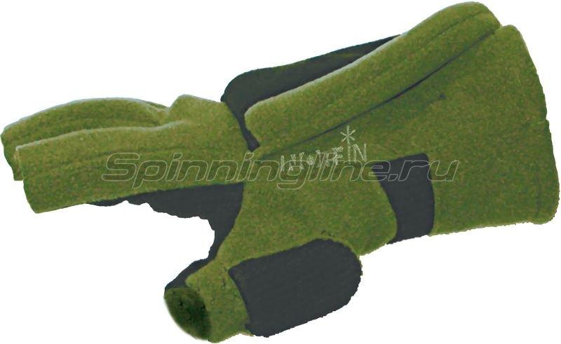 Перчатки-варежки ветрозащитные Norfin 73 отстегивающиеся L - фотография 2