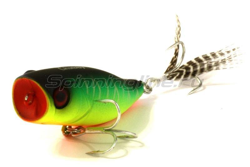 Jackall - Воблер Chubby Popper 42 mat tiger - фотография 1