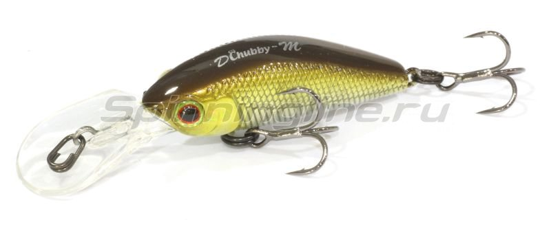 Jackall - Воблер Diving Chubby Minnow 35SP hl shad - фотография 1