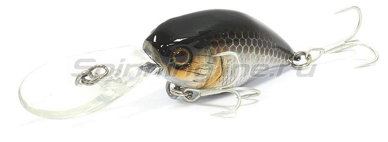 Jackall - Воблер DD Chubby 38F hl silver&black - фотография 1
