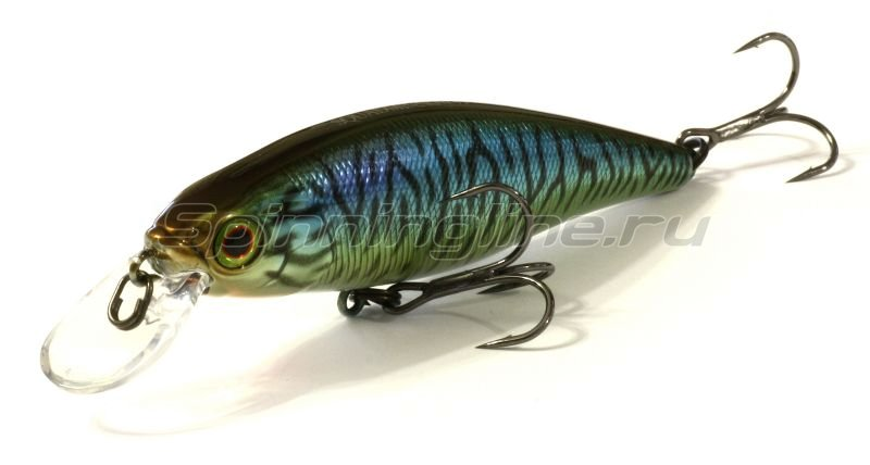 Jackall - Воблер Squad Minnow 80 hl bronze blue pike - фотография 1