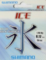 Леска Ice Silk shock 50м 0,25мм