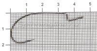 Крючок Decoy Dream Hook Worm 15 №2/0