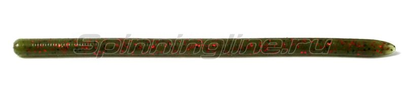 "Reins - Приманка Swamp Worm Jr 4.8"" 025 Watermelon Red - фотография 1"