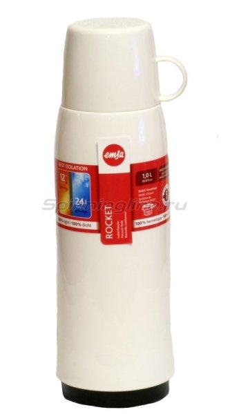 Термос Emsa Rocket 1.0л белый -  1