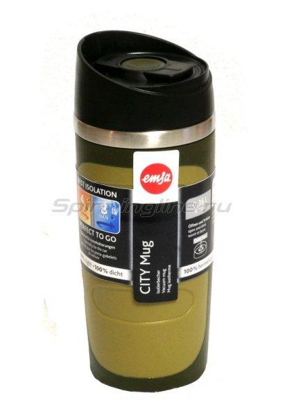 Кружка изотермическая Emsa City Mug 0.36л хаки -  1