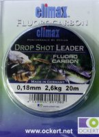 Флюорокарбон Drop Shot Leader 20м 0.18mm
