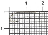 Крючок Gamakatsu LS-1053N №10