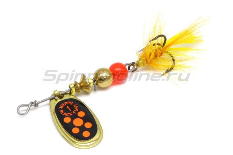 Блесна Black Fury Mouche 1 G Or 3,5гр -  1