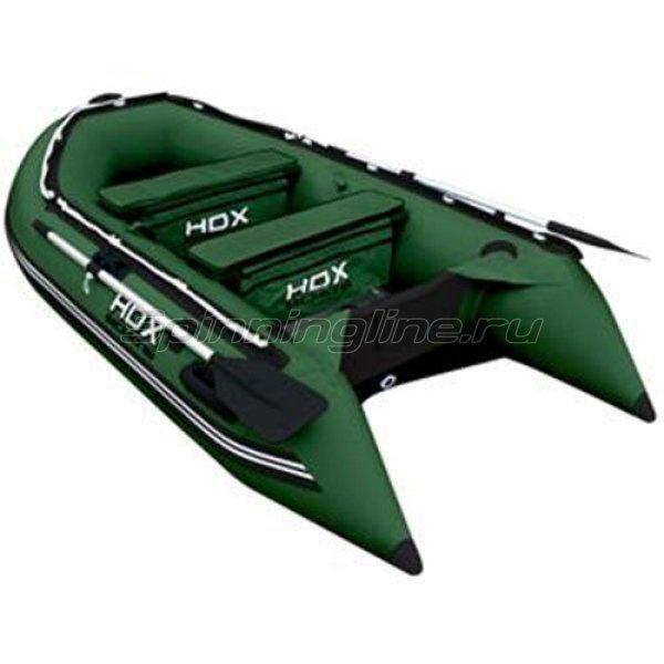Лодка ПВХ HDX Oxygen 280 AL зеленая -  1