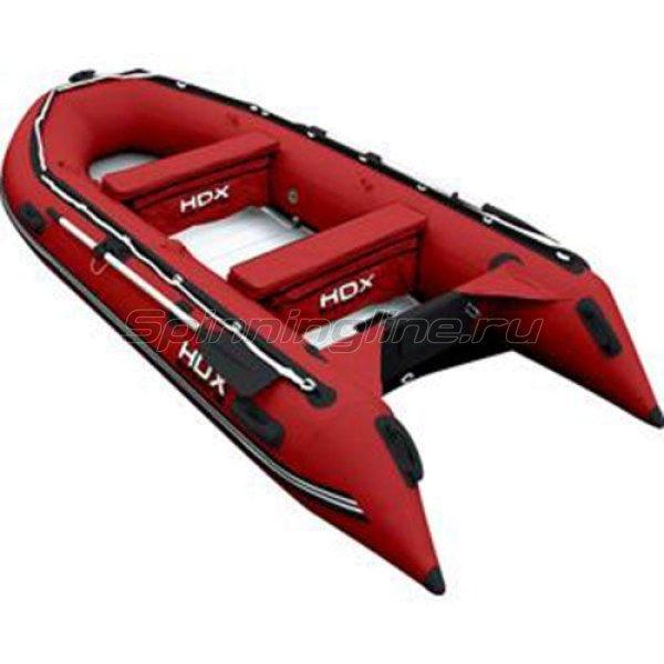 Лодка ПВХ HDX Oxygen 370 AL красная -  1