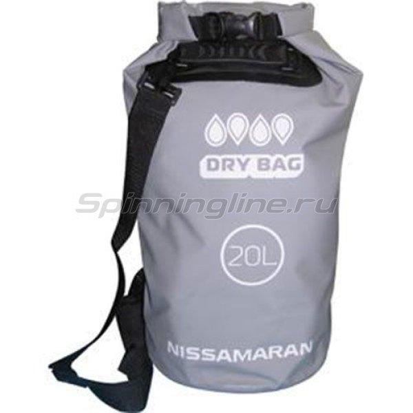 Мешок герметичный Dry Bag 20L серый -  1