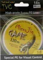 Шнур MicroJig Game 120м 0.6