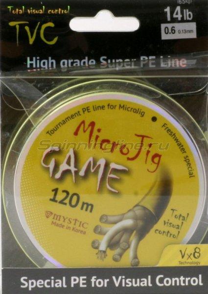 Шнур Mystic MicroJig Game 120м 0.8 -  1