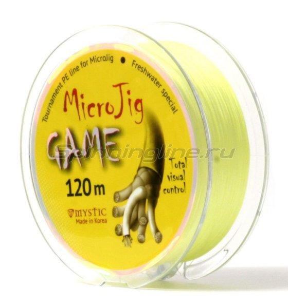 Шнур Mystic MicroJig Game 120м 0.8 -  2