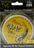 Шнур MicroJig Game 120м 1.2