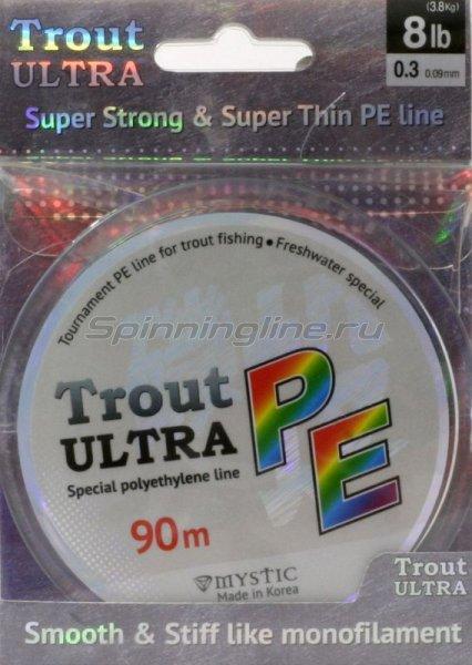 Шнур Trout Ultra 90м 0.3 -  1