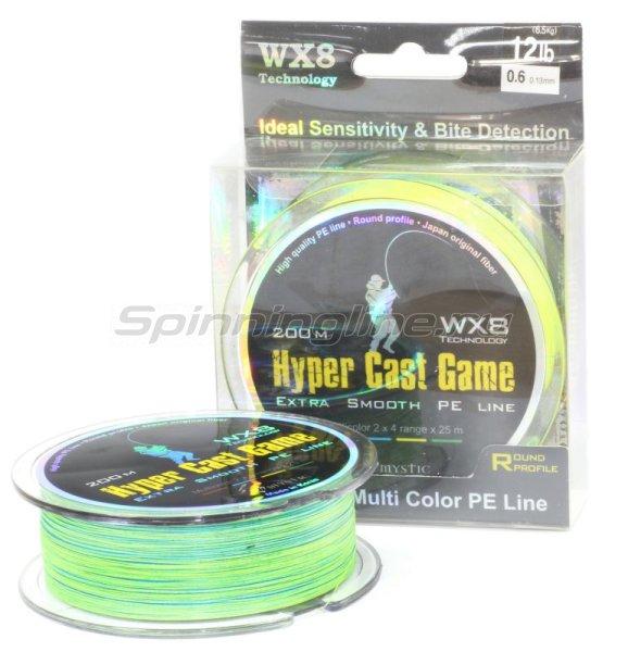 Шнур Hyper Cast Game 200м 0.8 -  1