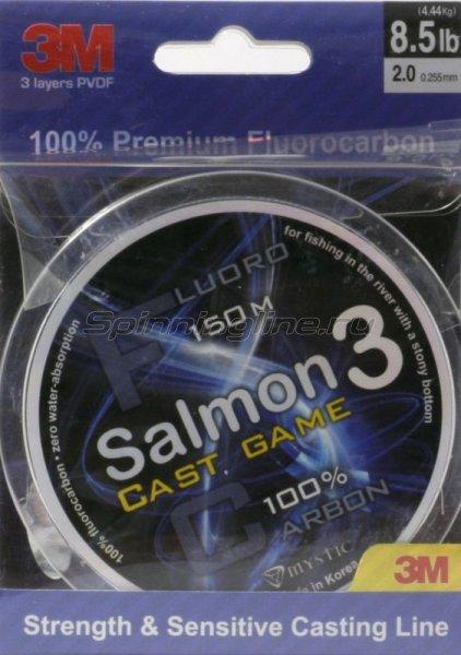 Флюорокарбон Salmon Cast Game 150м 0,255мм -  1