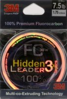 Флюорокарбон Hidden Leader 30м 0,255мм