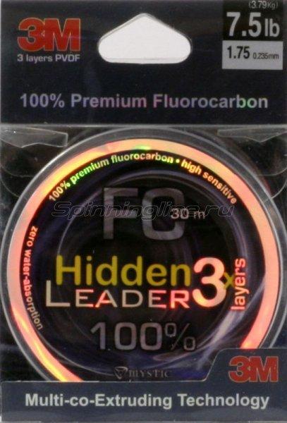 Флюорокарбон Mystic Hidden Leader 30м 0,255мм -  1