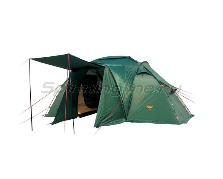 Палатка туристическая Sana 4 plus (цвет woodland) -  1