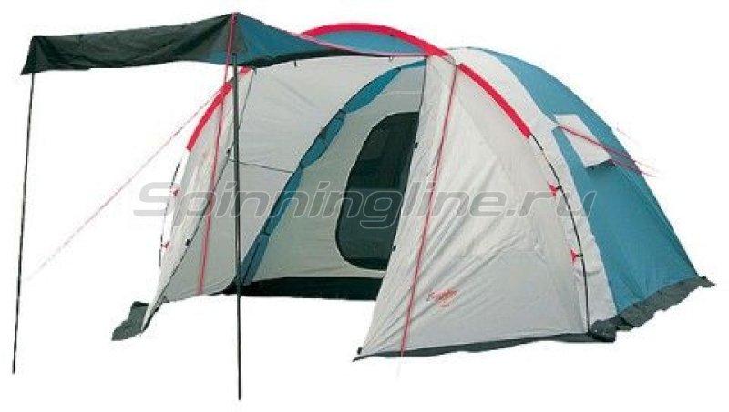 Палатка туристическая Rino 5 (цвет royal) -  1