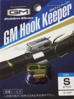 Держатель крючка на удилище Golden Mean Hook Keeper Gold S