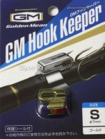 Держатель крючка на удилище Golden Mean Hook Keeper Gold L