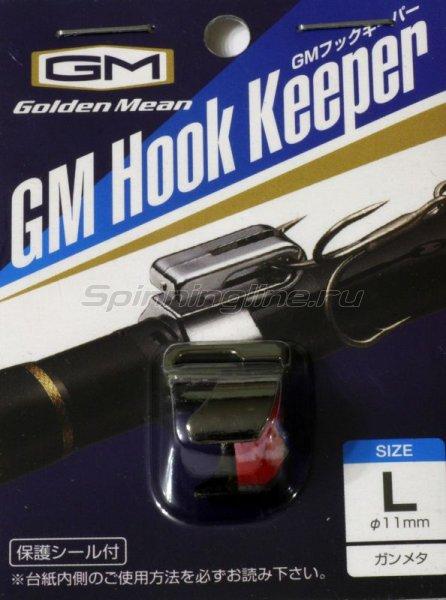 Держатель крючка на удилище Golden Mean Hook Keeper Gun Meta L -  1