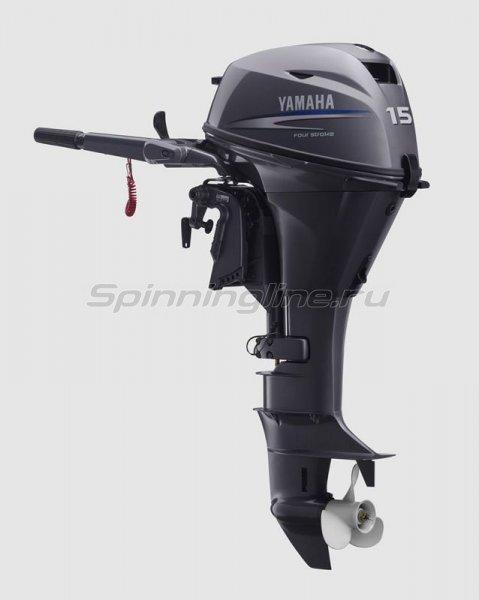 Лодочный мотор Yamaha F15CMHS -  1