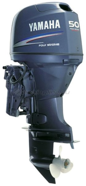 Лодочный мотор Yamaha F50DETL -  1