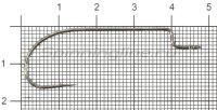 Крючок Saikyo BS-2311BN №2/0