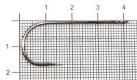 Крючок Saikyo BS-2313BN №2/0