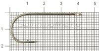 Крючок Saikyo BS-2313BN №3/0