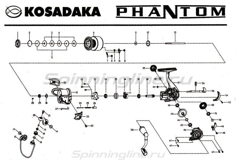 Катушка Phantom 3500 FX -  9