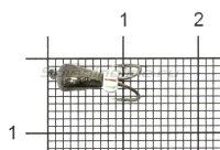 Мормышка Коза капля d3.2 черный никель